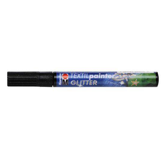 Marabu Textil Fabric Pens Glitter 3mm