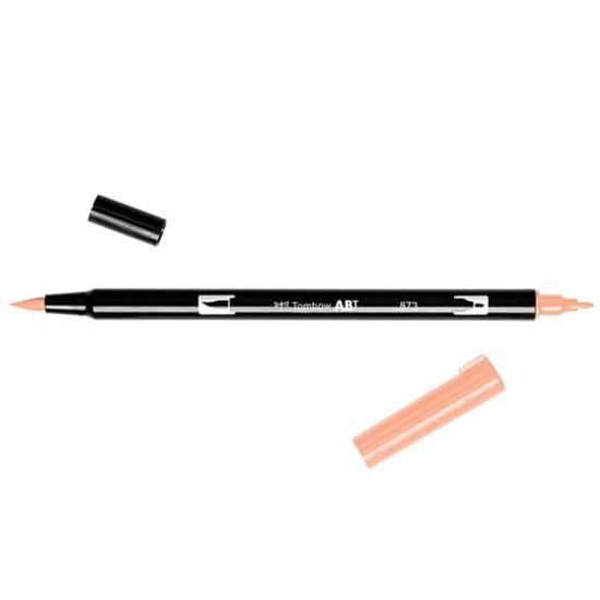 Tombow ABT Dual Brush Pen Coral 873