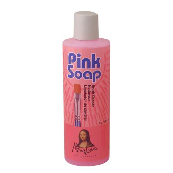 Speedball Mona Lisa Pink Brush Cleaning Soap - 8oz