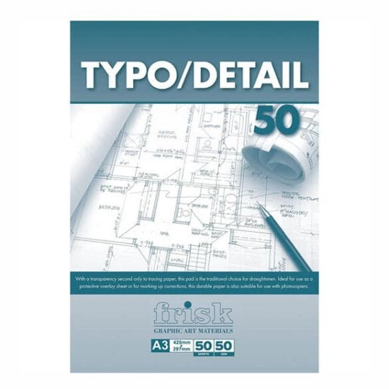 Frisk Typo-Detail Paper Pad