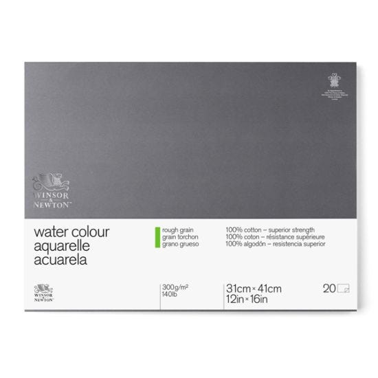 Winsor & Newton Watercolour Block Rough 300g