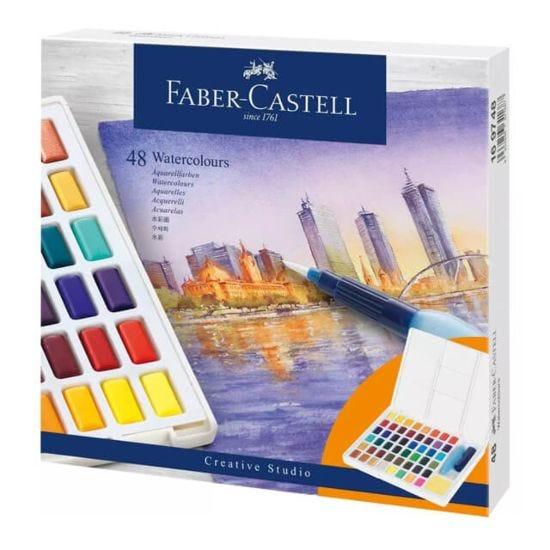 Faber-Castell Creative Studio Watercolour Pan Set of 48