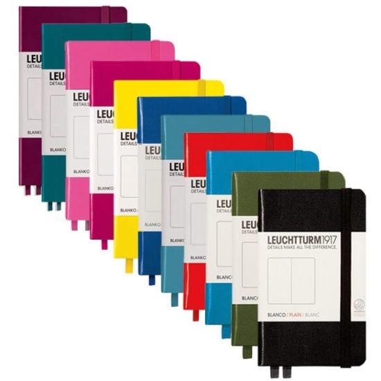 Leuchtturm1917 Hardback Pocket Notebook Plain Paper A6