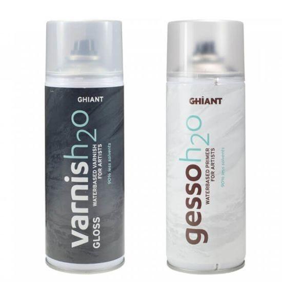 Ghiant Varnish20 Water-Based Varnish For Artist 400ml