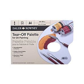 Daler-Rowney Tear-Off Palette for Oil Painting