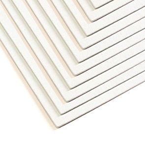 Seawhite A4 Primed Cotton Canvas Board Pack of 10