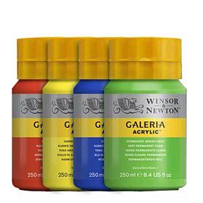 Winsor & Newton Galeria Acrylic Paint 250ml Group | London Graphic Centre