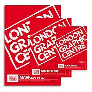 London Graphic Centre Marker Pad