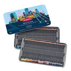 Derwent Procolour Professional Colour Pencil Tin of 72