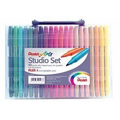 Pentel Arts Studio Set | London Graphic Centre