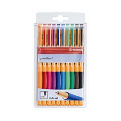 Stabilo PointVisco Gel 10 Pen Wallet