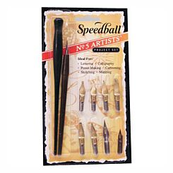 Speedball No 5 Artistsinch Pen Set 2962