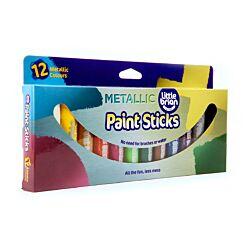 Little Brian 12 Metallic Paint Sticks