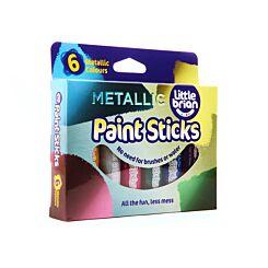 Little Brian 6 Metallic Paint Sticks
