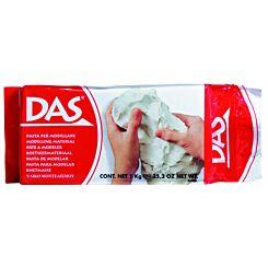 DAS Air Hardening Modelling Clay White 1kg
