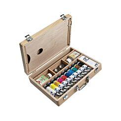 Royal Talens Van Gogh Oil Paint Wooden Box Set