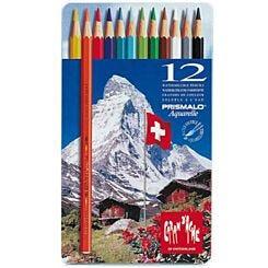 Caran D Ache Prismalo 12 Coloured Pencils