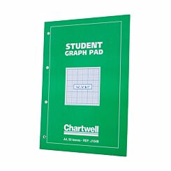 Chartwell Student Graph Pad A3 Imperial 0.1inch, 0.5inch and 1inch
