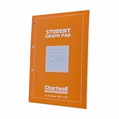 Chartwell Student Graph Pad A4 1mm, 5mm and 10mm