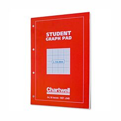 Chartwell Student Graph Pad A4 2mm,10mm and 20mm