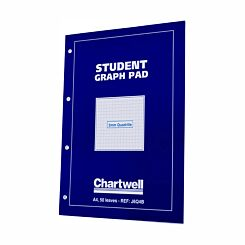 Chartwell Student Graph Pad A4 5mm Quadrille