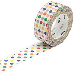 Washi Tape Colourful Dot