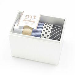 Gift Box Monotone Washi Tapes Set of 5