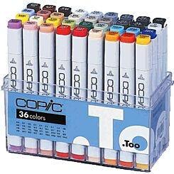 Copic Marker 36 Colour Set