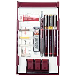 Rotring Rapidograph Technical Drawing Pen College Set