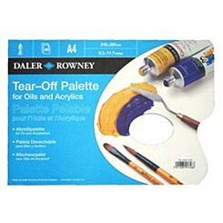 Daler-Rowney Tear-Off Palette for Oils and Acrylics