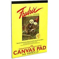 Fredrix Primed Canvas Pad
