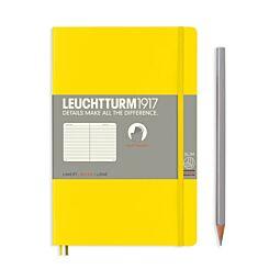 Leuchtturm1917 Softcover Notebook Ruled Lemon B6+ Flat | London Graphic Centre