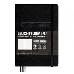 Leuchtturm Bullet Journal Notebook A5 Black | London Graphic Centre