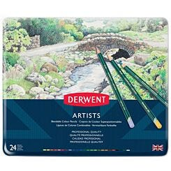 Derwent Artists Colour Pencils Set of 24