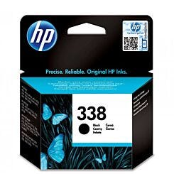 HP Ink Cartridge 338 Single Black Front   London Graphic Centre