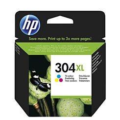 HP Ink Cartridge 304XL Single Tri-Colour Front   London Graphic Centre