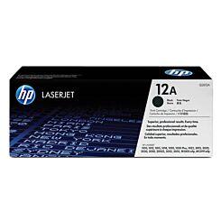HP Laser Toner Cartridge 12A Single Black Box London Graphic Centre