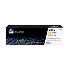 HP Laserjet Toner Cartridge 201A Single Yellow Box London Graphic Centre