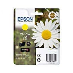 Epson Printer Ink Cartridge 18 Daisy Single Yellow Box London Graphic Centre