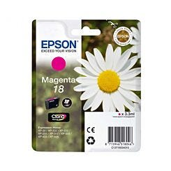 Epson Printer Ink Cartridge 18 Daisy Single Magenta Box London Graphic Centre