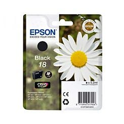 Epson Printer Ink Cartridge 18 Daisy Single Black Box London Graphic Centre