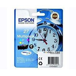 Epson Printer Ink Cartridge T2705 Alarm Clock Multipack Box London Graphic Centre