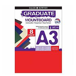 Daler-Rowney Graduate Mountboard Colours A3 Front