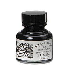 Winsor & Newton Drawing Ink 30ml Indian Ink Black