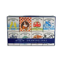 Winsor & Newton Henry Collection Drawing Ink Set of 8