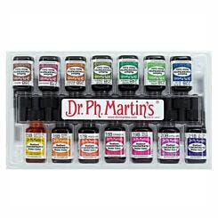 Dr. Ph. Martins Radiant Concentrated Watercolour Ink 15ml Set B Box Closed