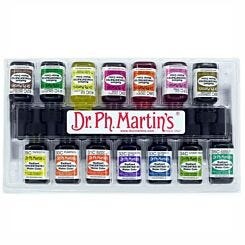 Dr. Ph. Martins Radiant Concentrated Watercolour Ink 15ml Set C Front Box