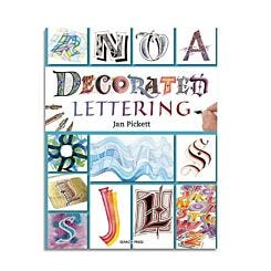 Decorated Lettering by Jan Pickett Front Cover