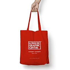 London Graphic Centre Tote Bag Red