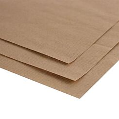 Seawhite A3 Brown Ribbed Kraft Paper Pack of 10 Sheets